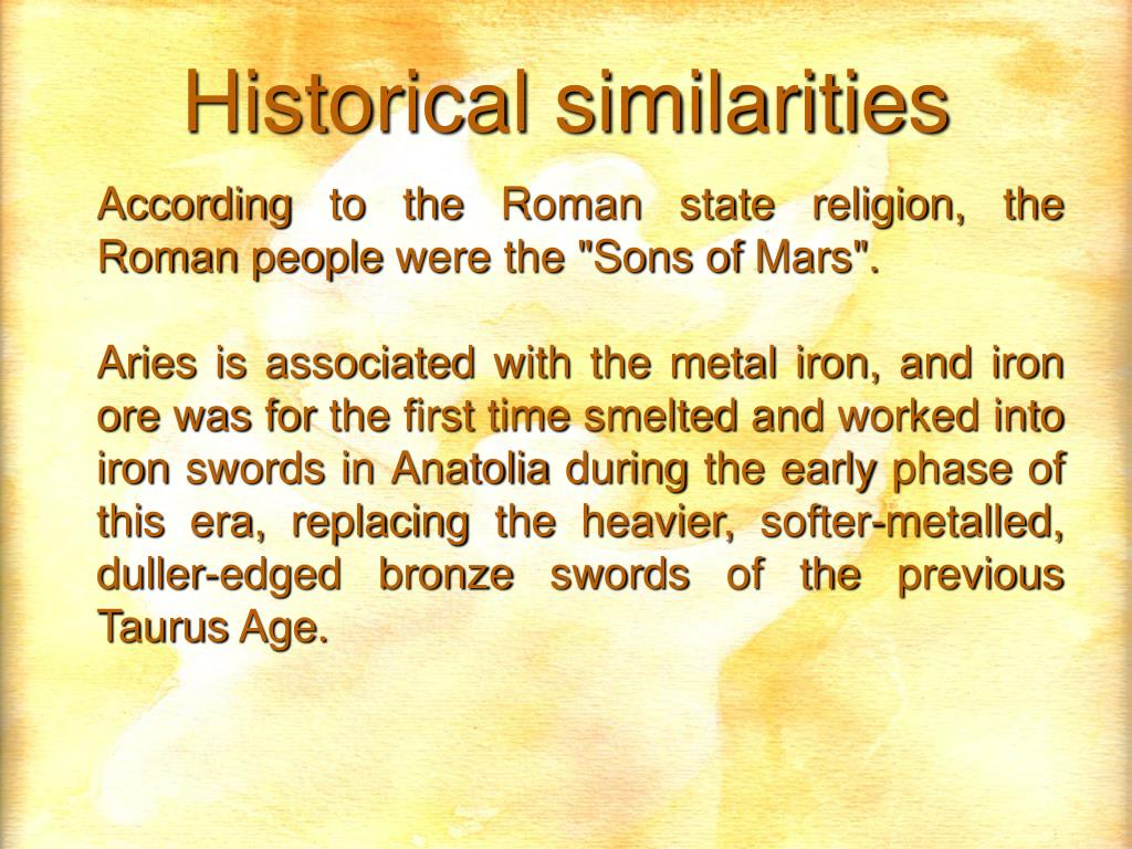 "According to the Roman state religion, the Roman people were the ""Sons of Mars""."