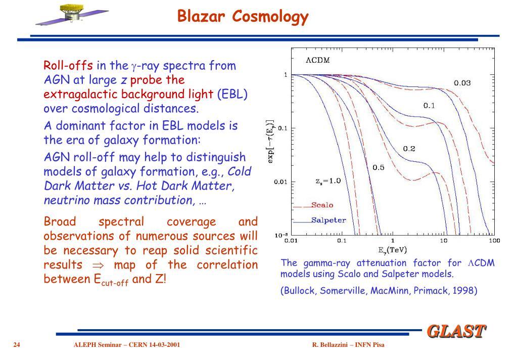 Blazar Cosmology