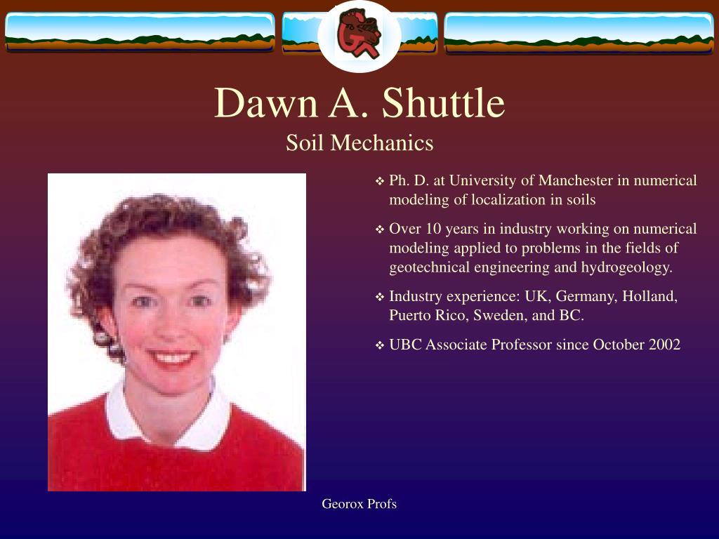 Dawn A. Shuttle