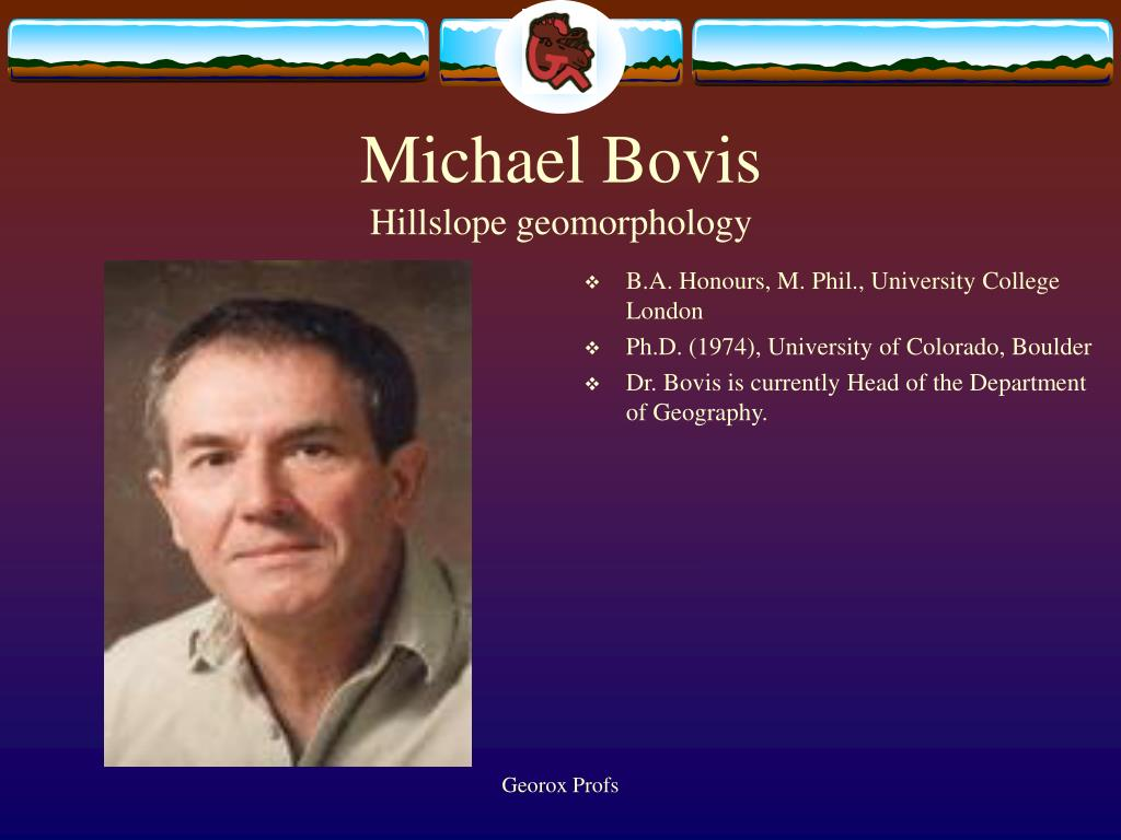 Michael Bovis