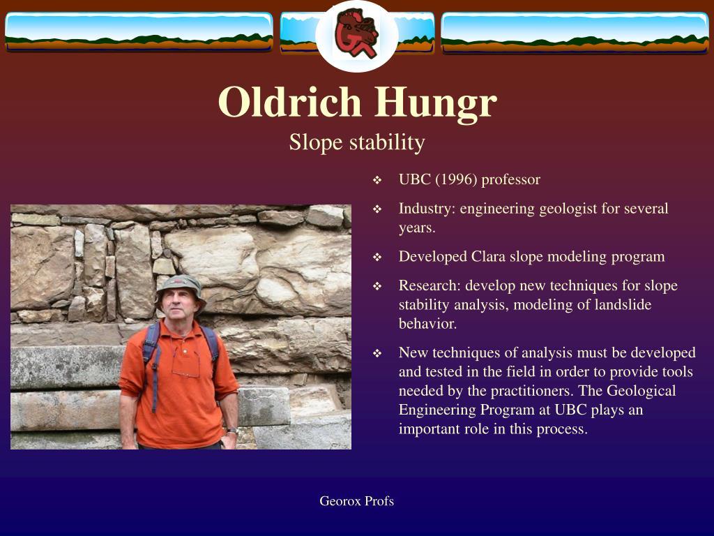 Oldrich Hungr