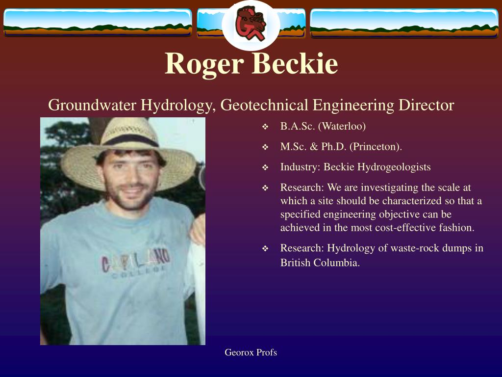 Roger Beckie
