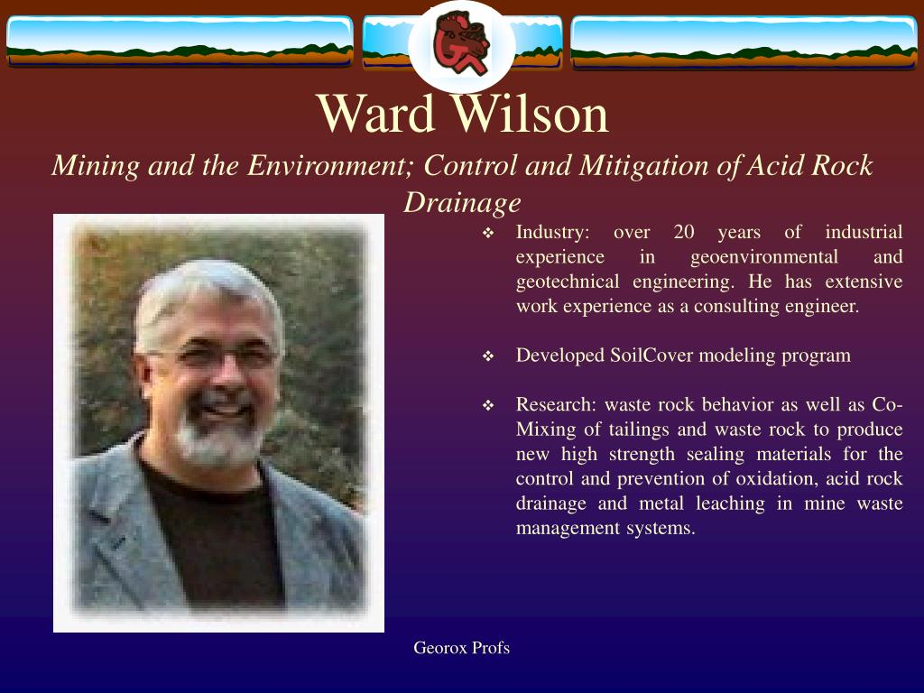Ward Wilson