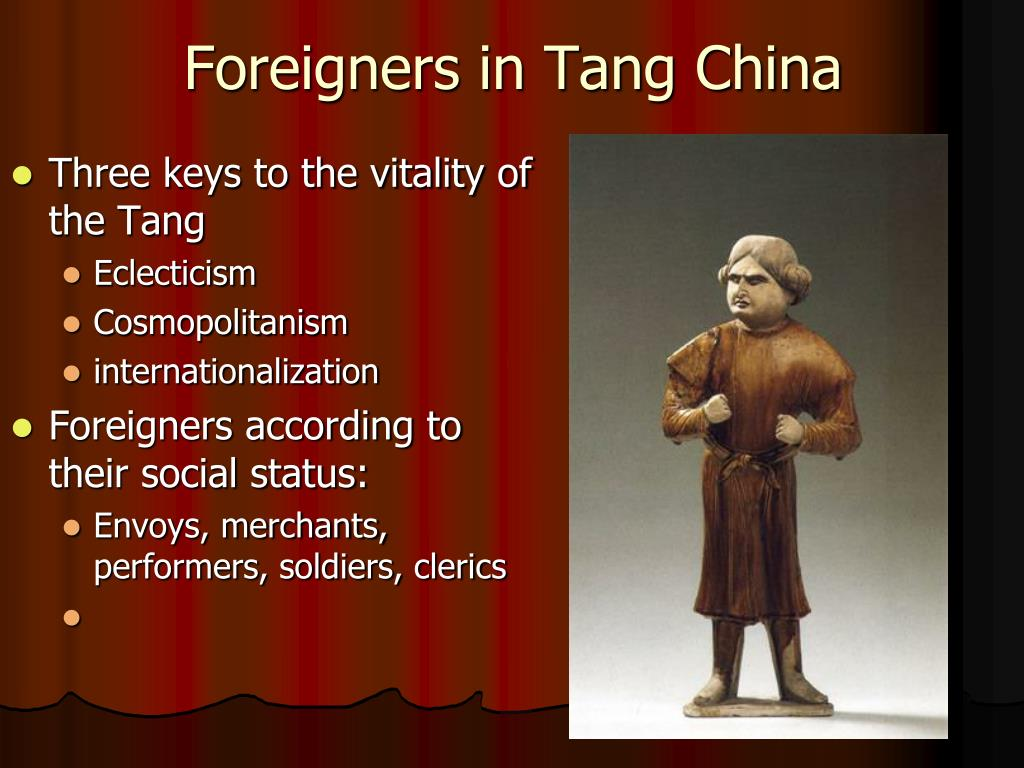 Foreigners in Tang China