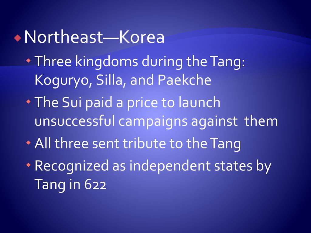 Northeast—Korea
