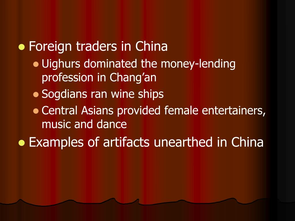 Foreign traders in China