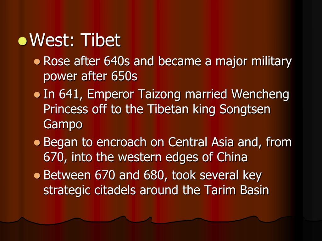 West: Tibet