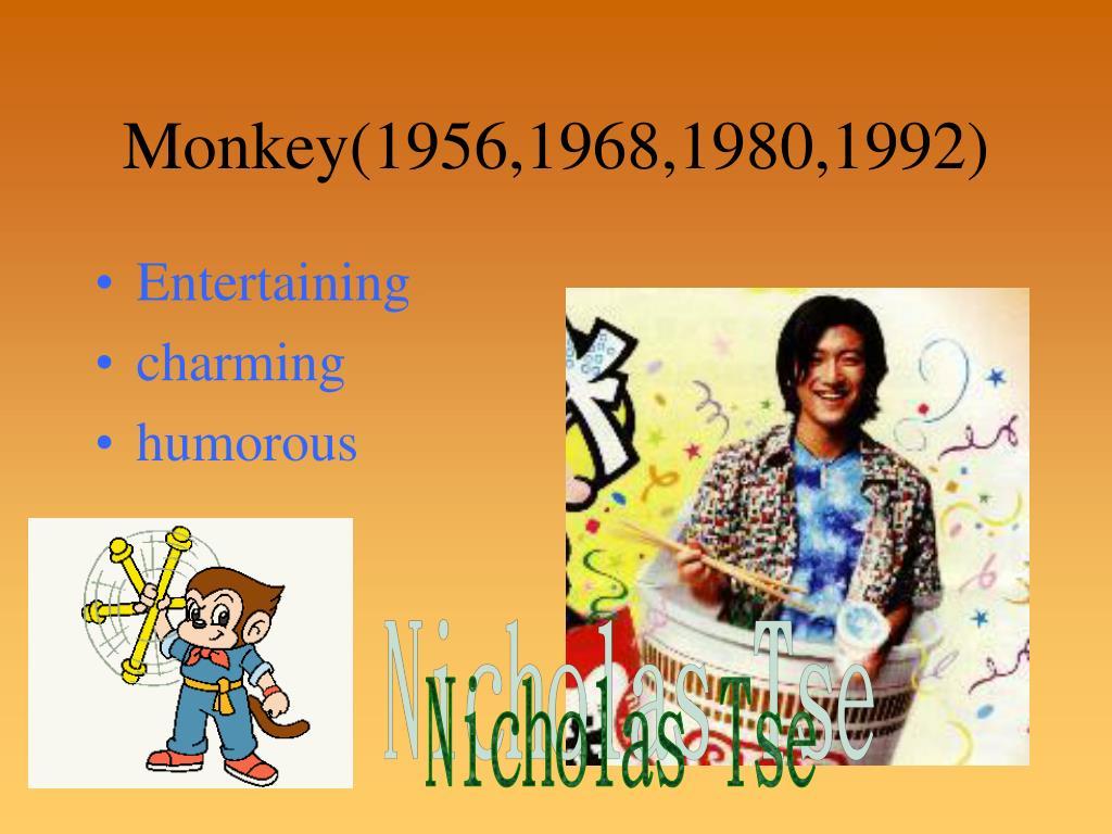 Monkey(1956,1968,1980,1992)