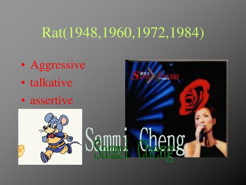 Rat(1948,1960,1972,1984)