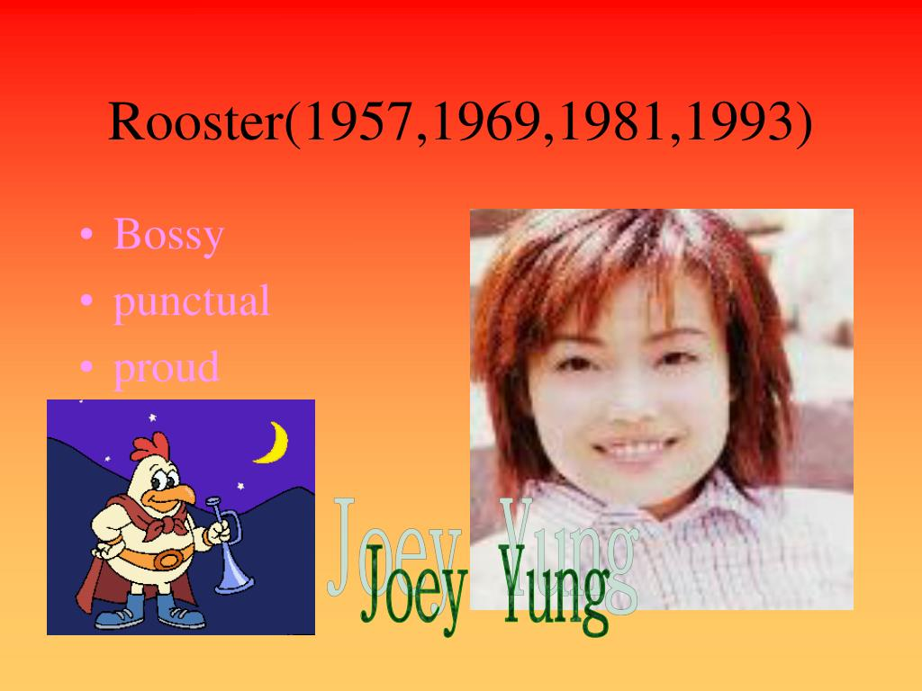 Rooster(1957,1969,1981,1993)