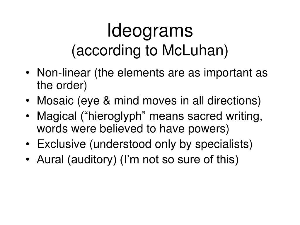 Ideograms