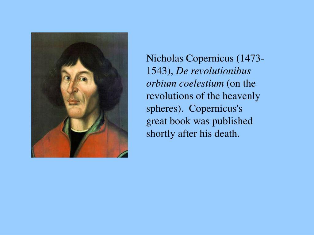 Nicholas Copernicus (1473-