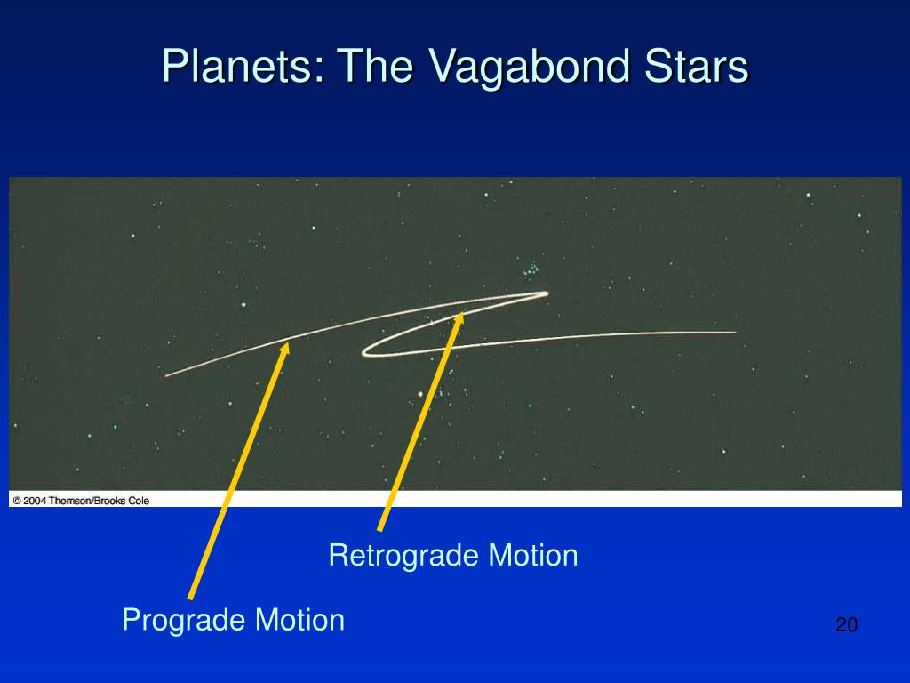 Planets: The Vagabond Stars
