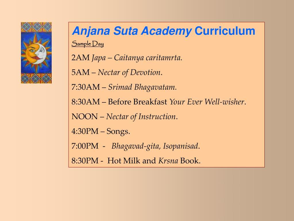 Anjana Suta Academy