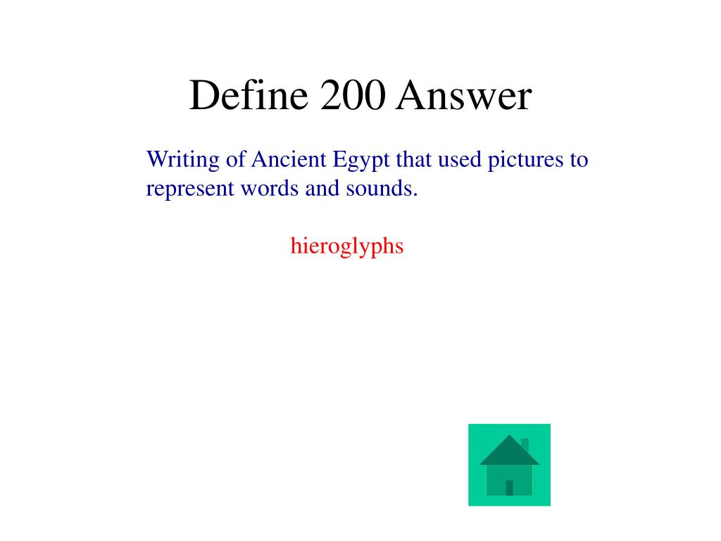 Define 200 Answer