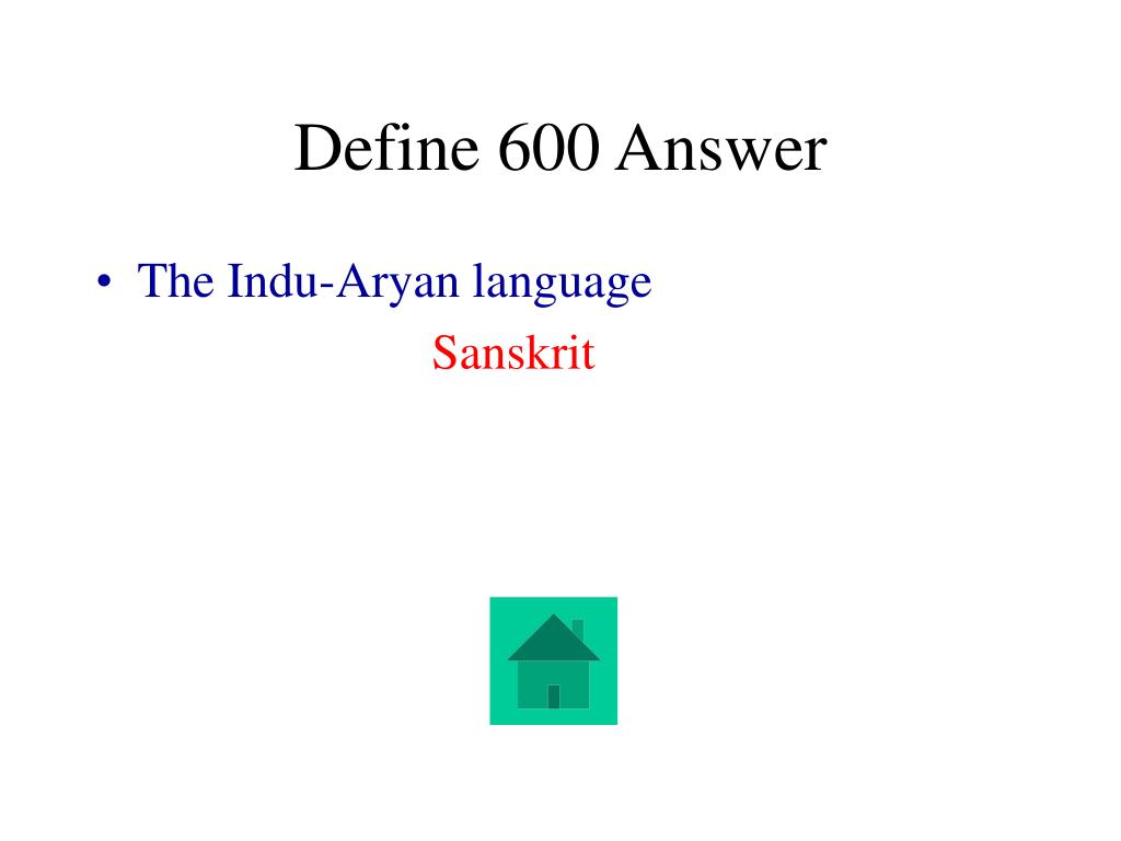 Define 600 Answer