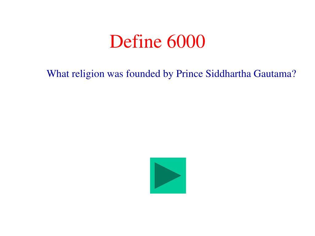 Define 6000