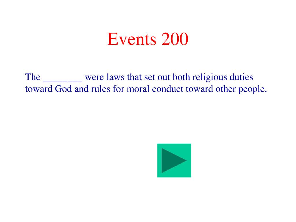 Events 200