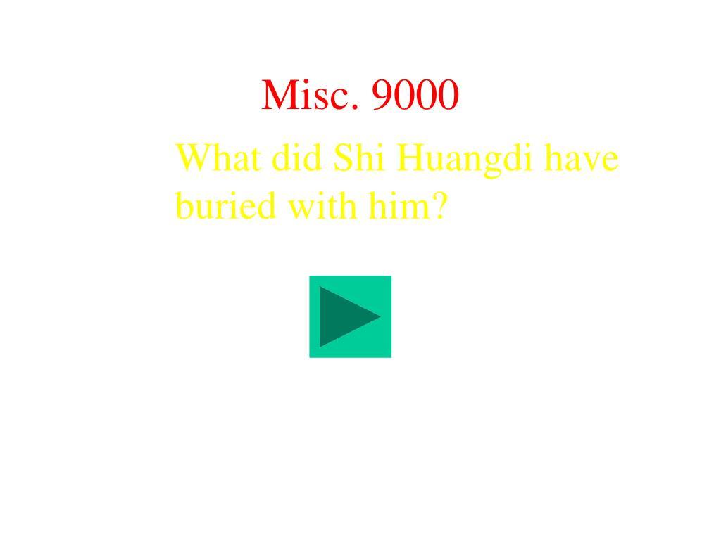 Misc. 9000