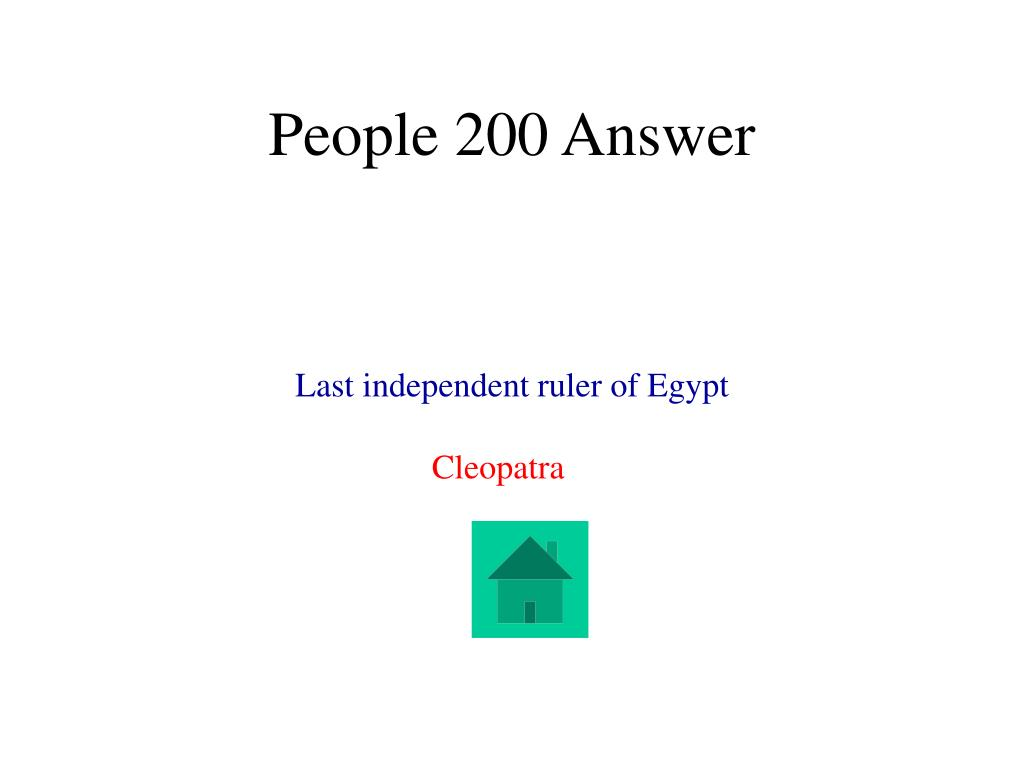 People 200 Answer