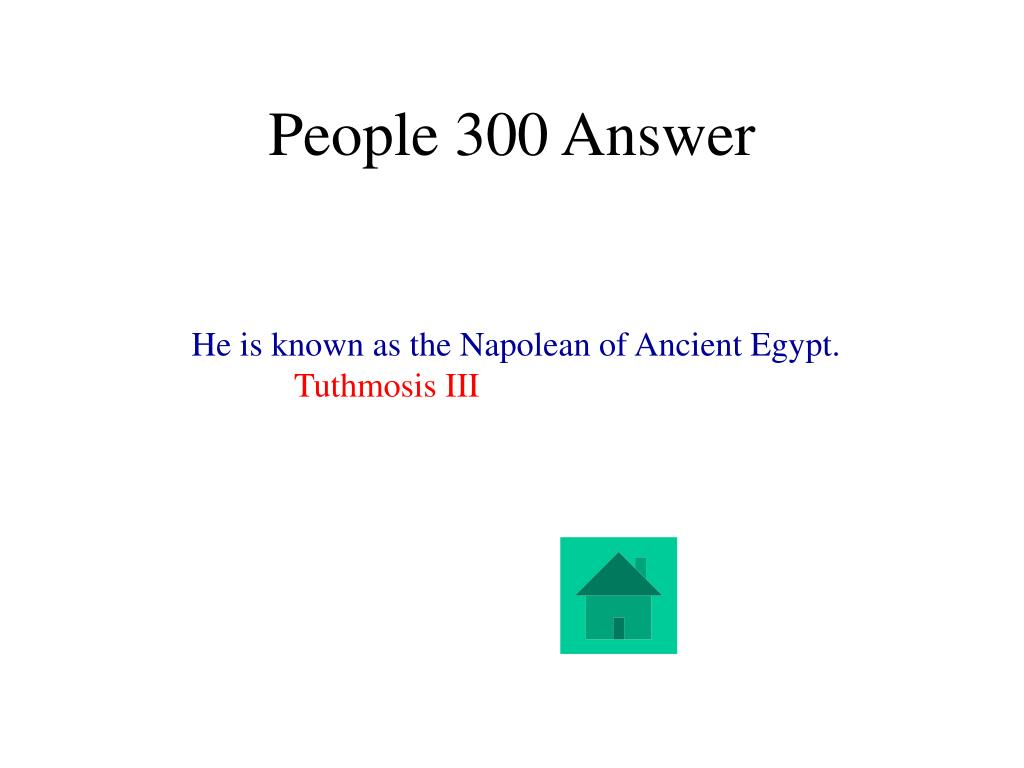 People 300 Answer