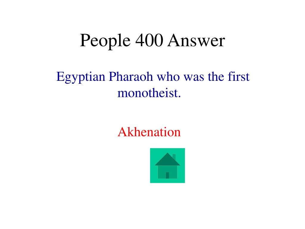 People 400 Answer