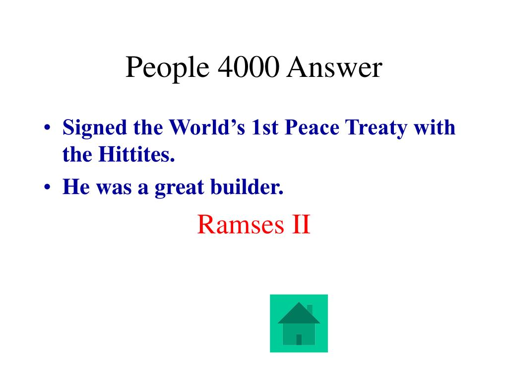 People 4000 Answer
