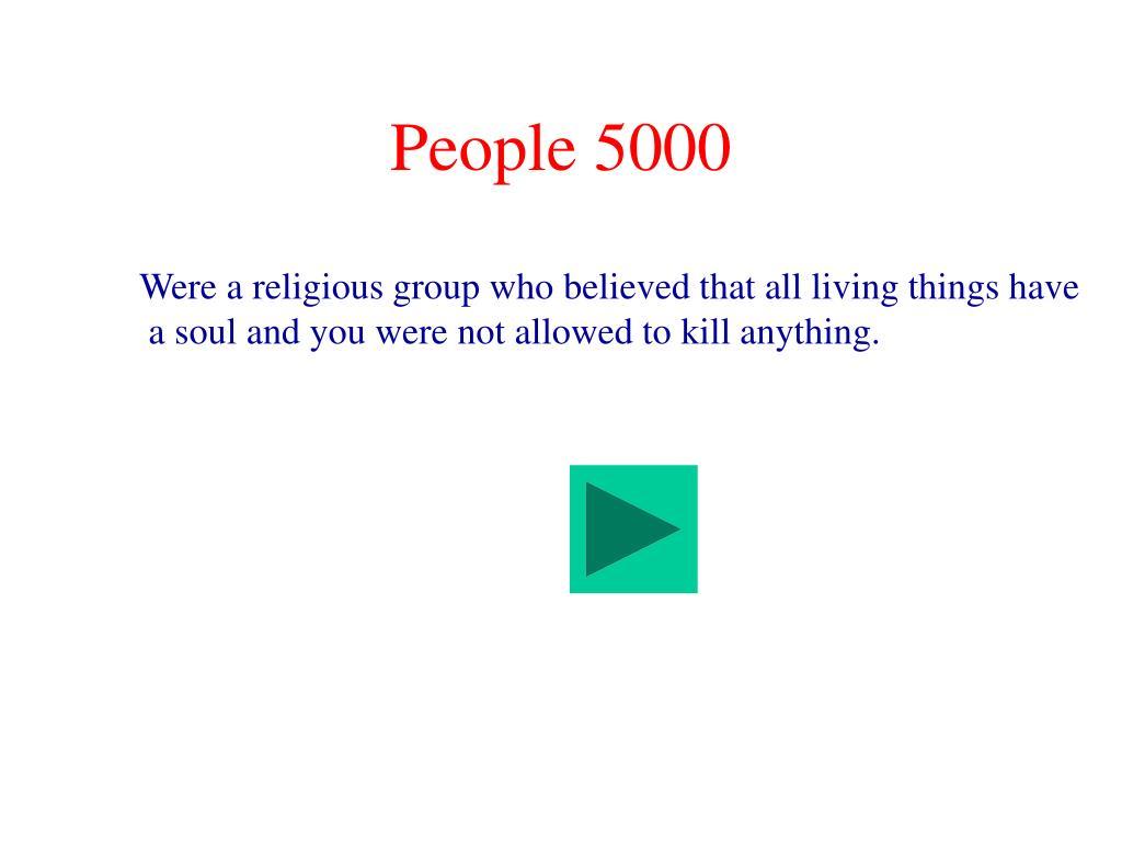People 5000