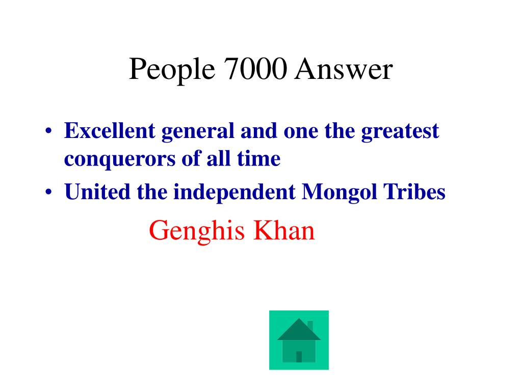 People 7000 Answer