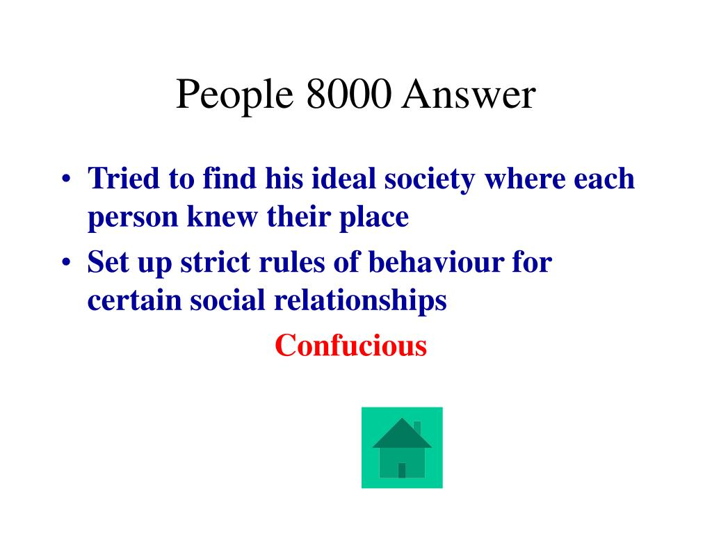 People 8000 Answer