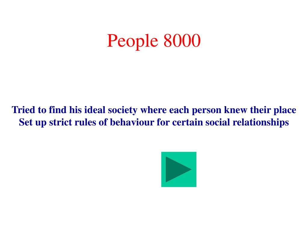 People 8000