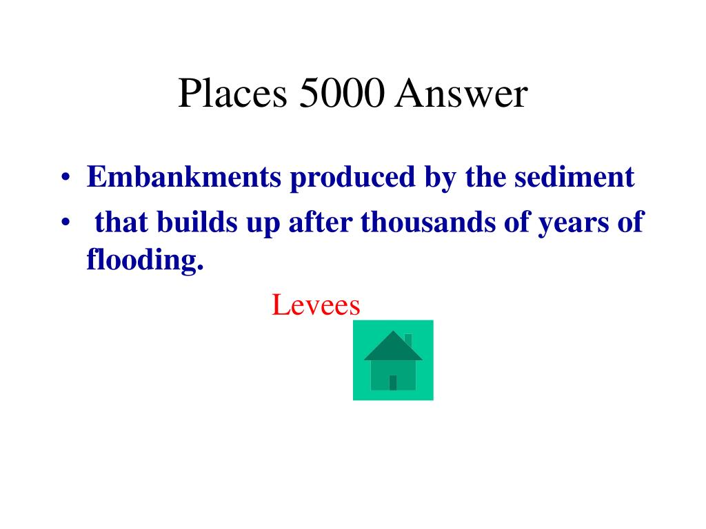 Places 5000 Answer