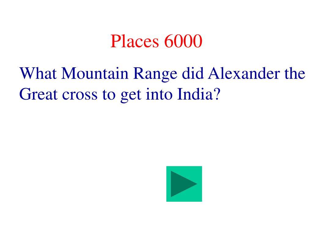 Places 6000