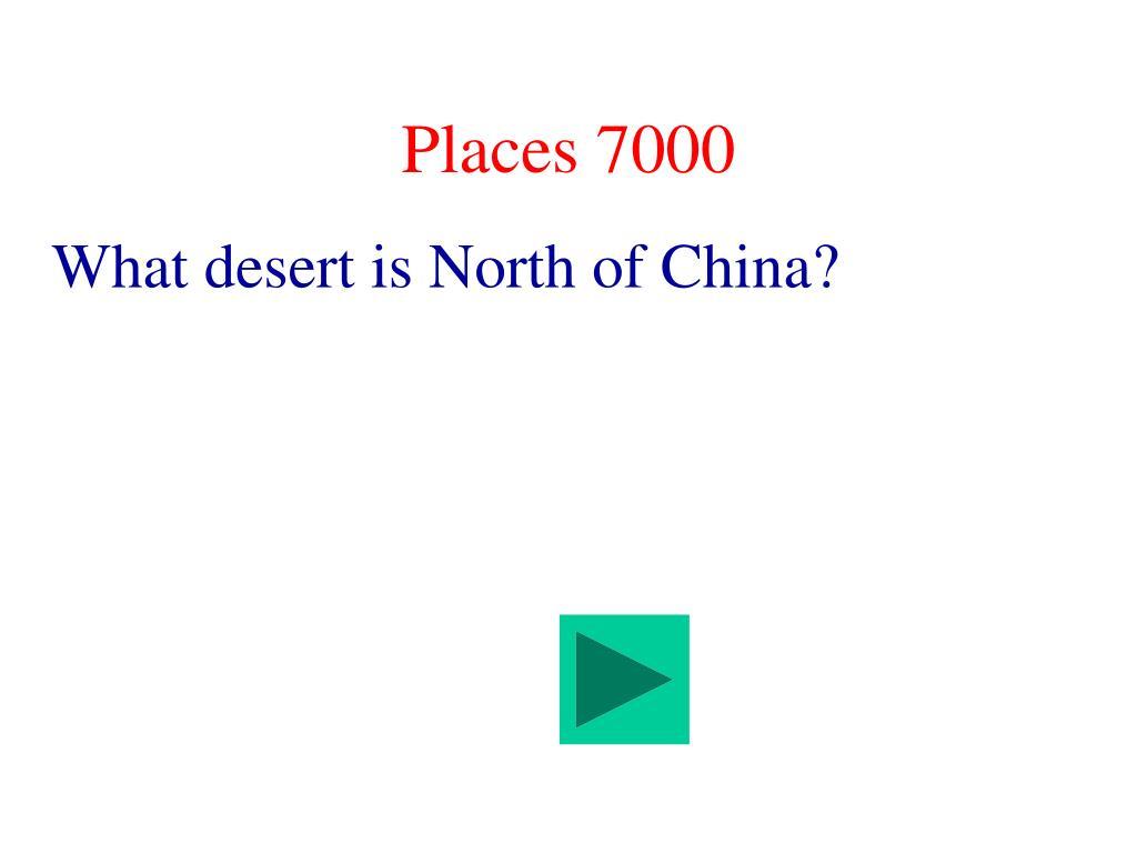 Places 7000