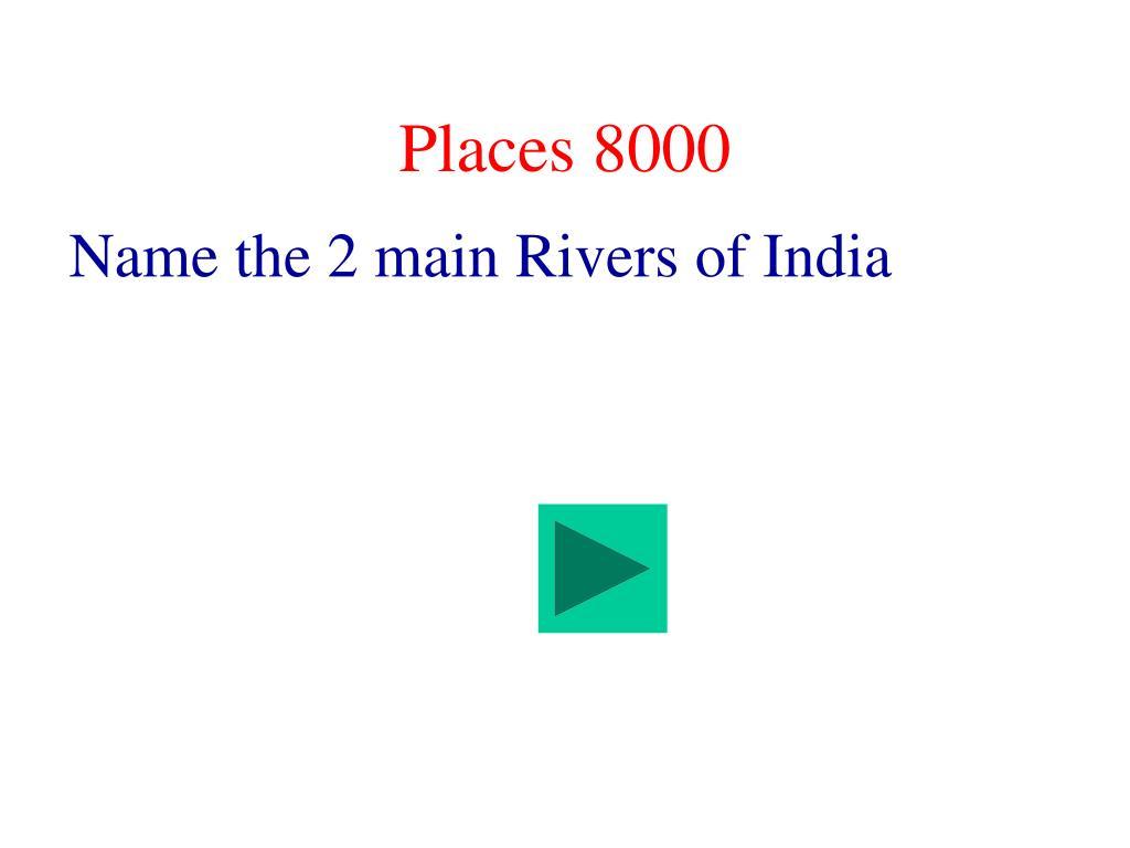 Places 8000