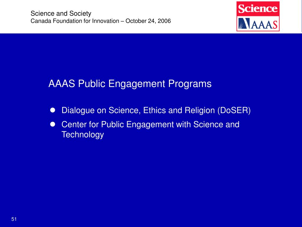 Science and Society