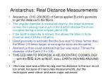 aristarchus real distance measurements