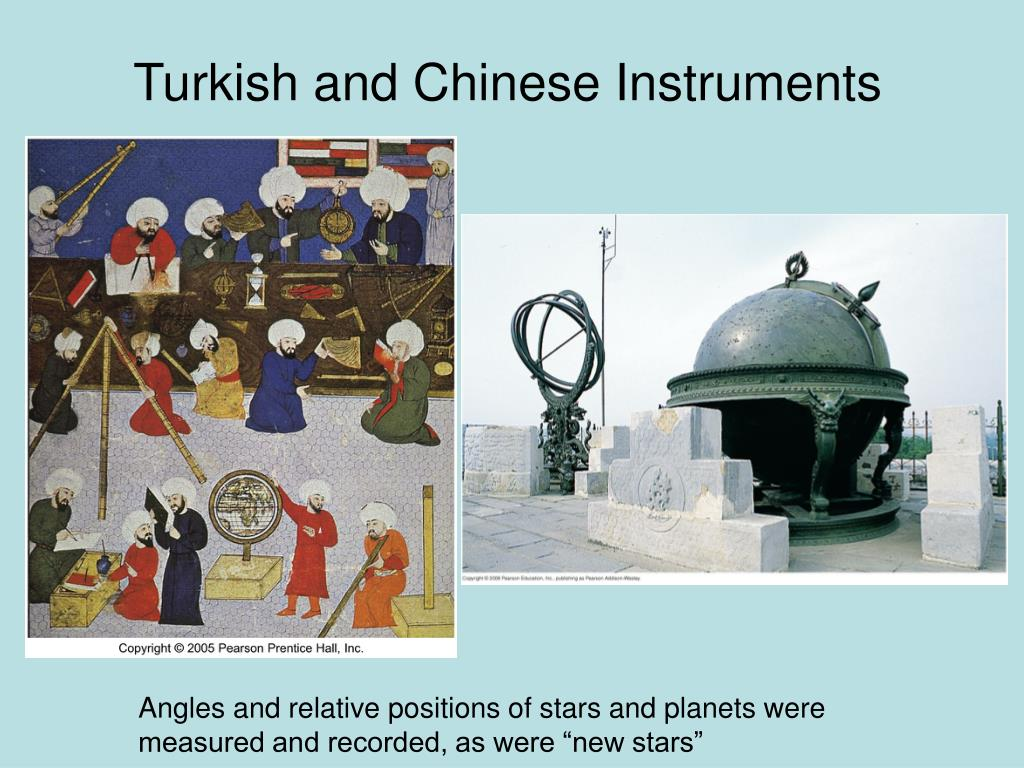 Turkish and Chinese Instruments