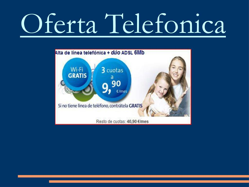 Oferta Telefonica