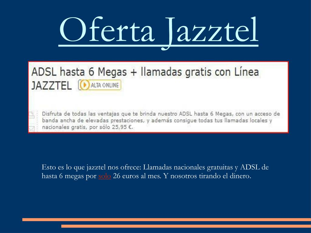 Oferta Jazztel