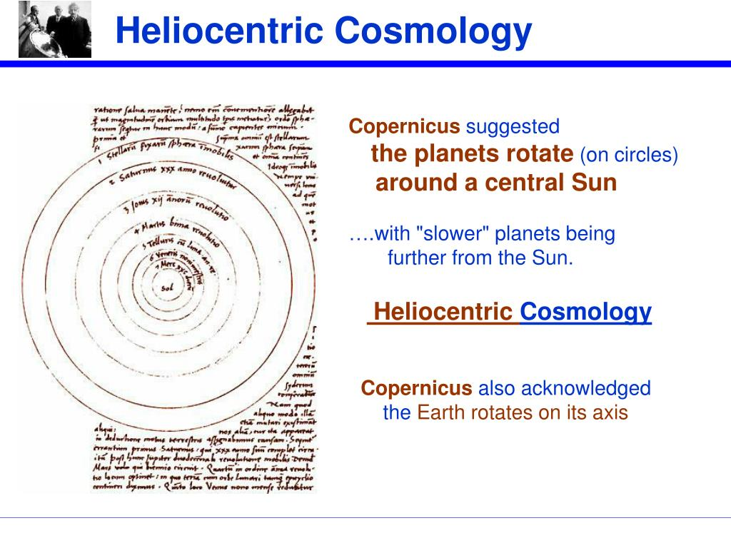 Heliocentric Cosmology