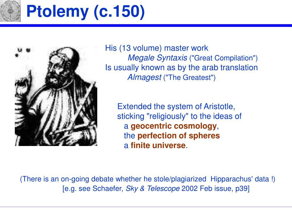 Ptolemy (c.150)