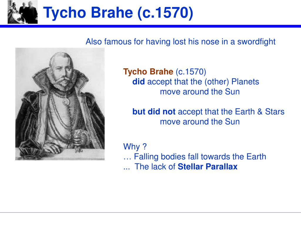 Tycho Brahe (c.1570)