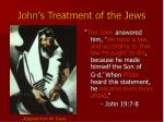 john s treatment of the jews20