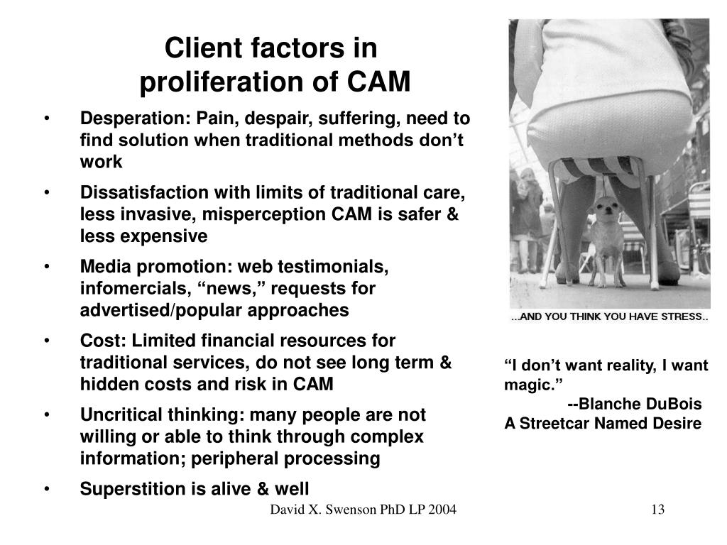 Client factors in