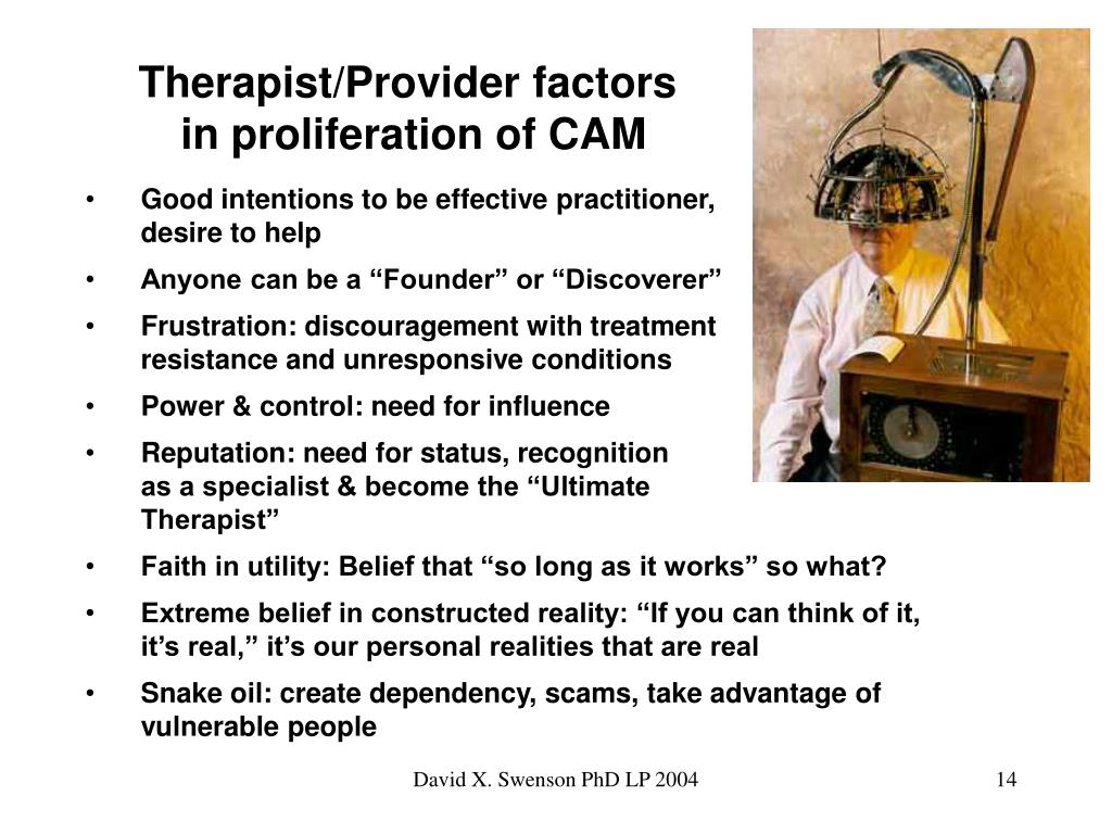 Therapist/Provider factors
