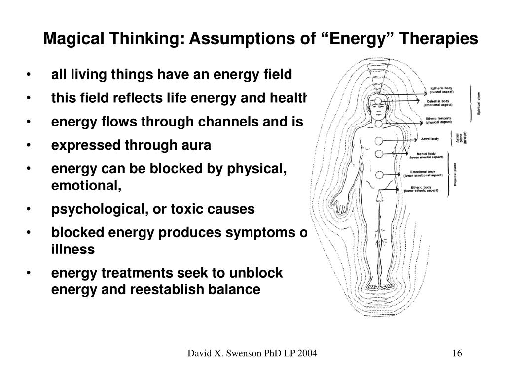 "Magical Thinking: Assumptions of ""Energy"" Therapies"