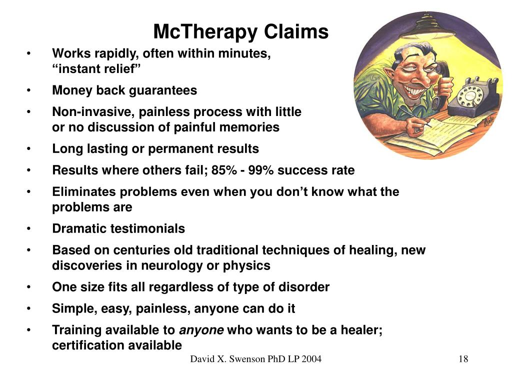 McTherapy Claims