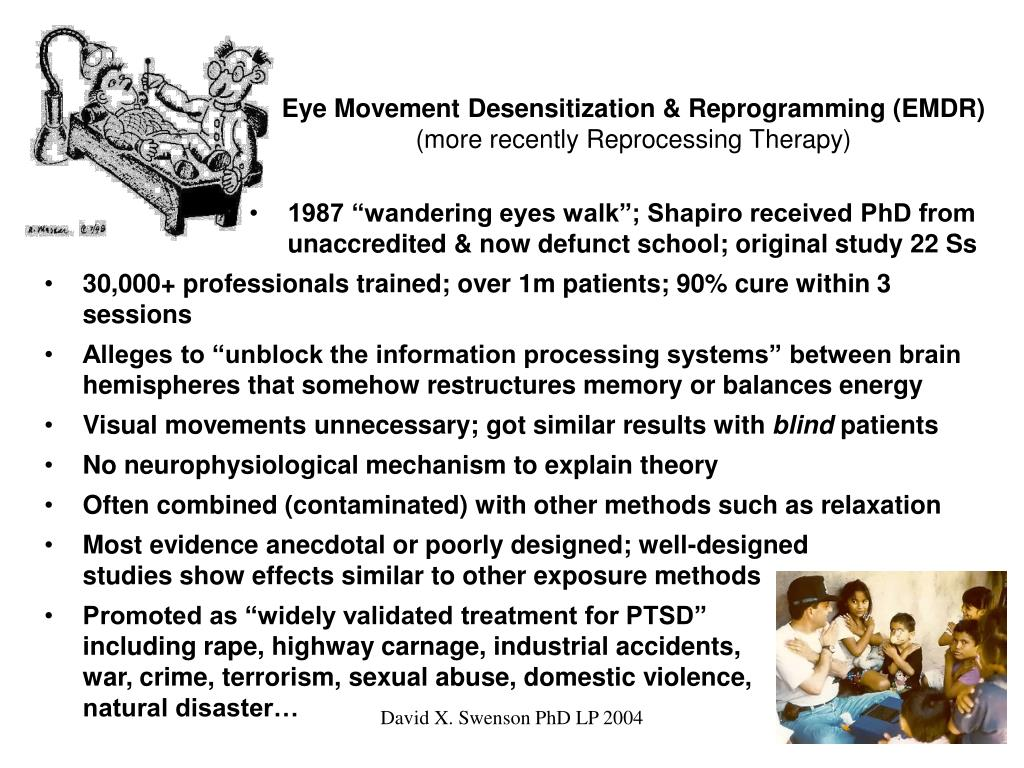 Eye Movement Desensitization & Reprogramming (EMDR)