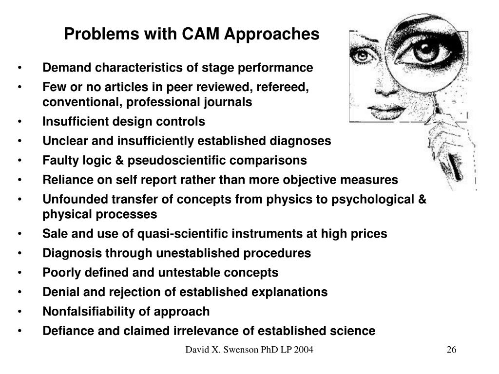 Problems with CAM Approaches